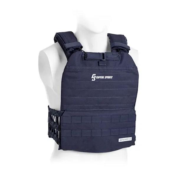Záťažová vesta Capital Sports Battlevest 2.0 2 x 4 kg - modrá