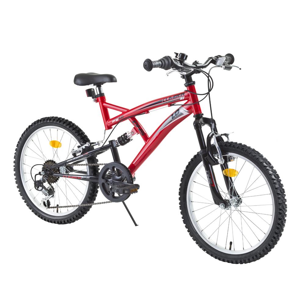 Celoodpružený detský bicykel DHS 2042 20