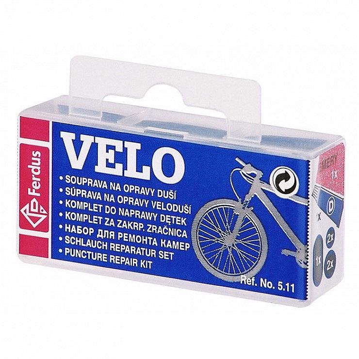 Lepenie na bicykel Ferdus Velo modré