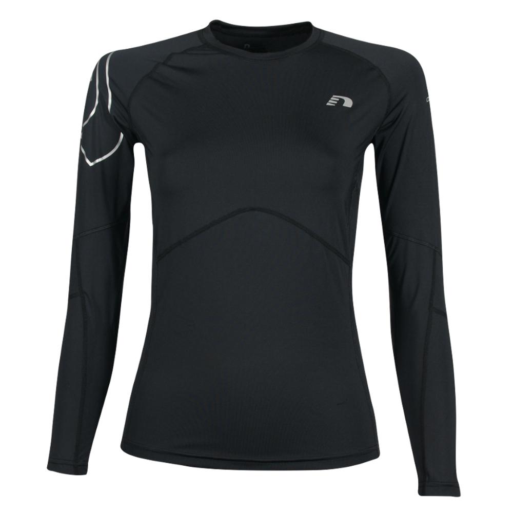 Pánske kompresné termo tričko Newline Iconic Compression Thermal LS Shirt - dlhý rukáv