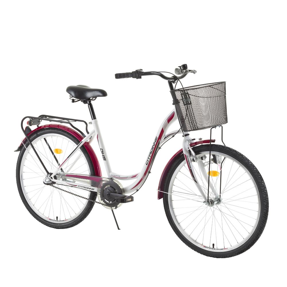 """Mestský bicykel DHS Citadinne 2636 26"""" - model 2015"""