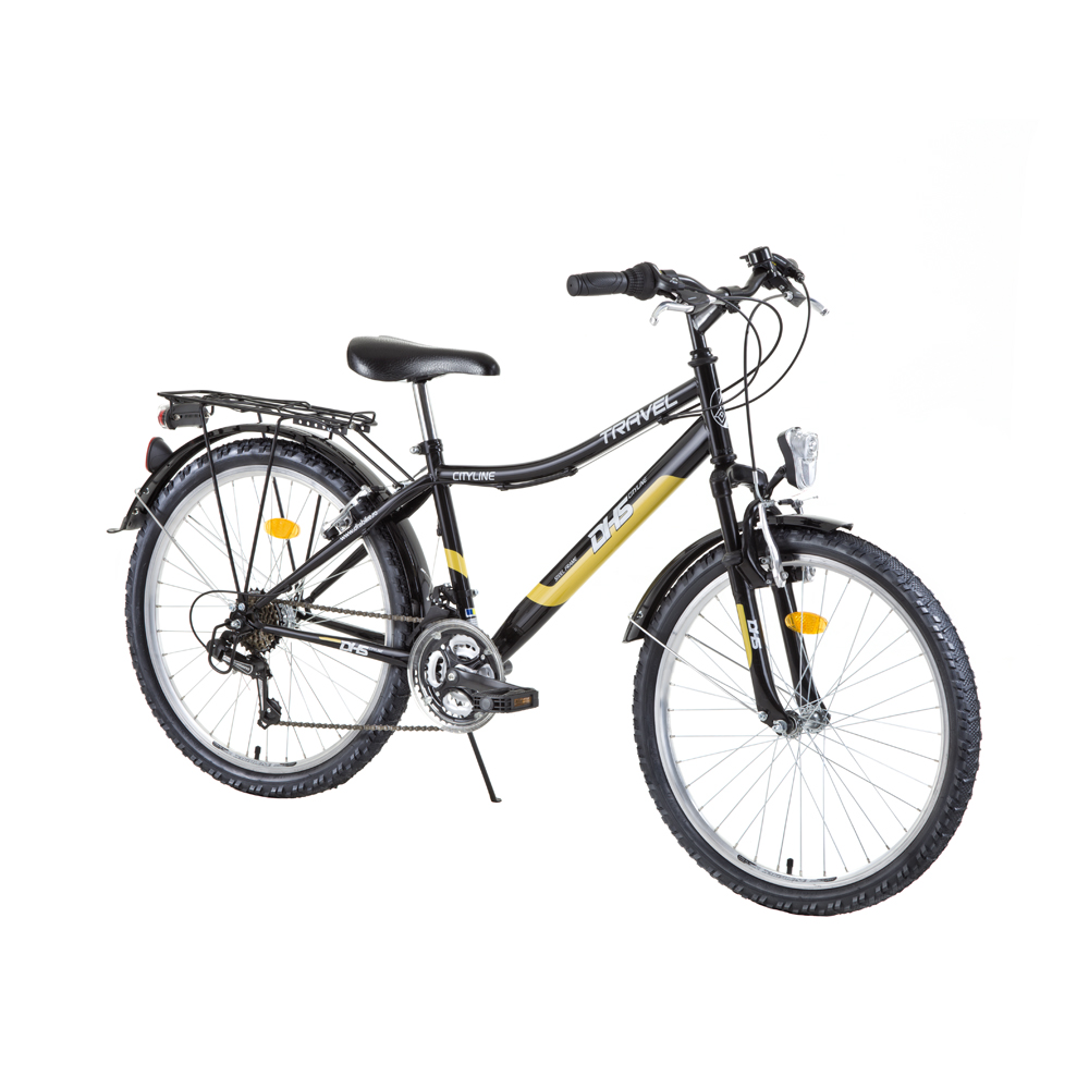 "Juniorský bicykel DHS Travel 2431 24"" - model 2015"