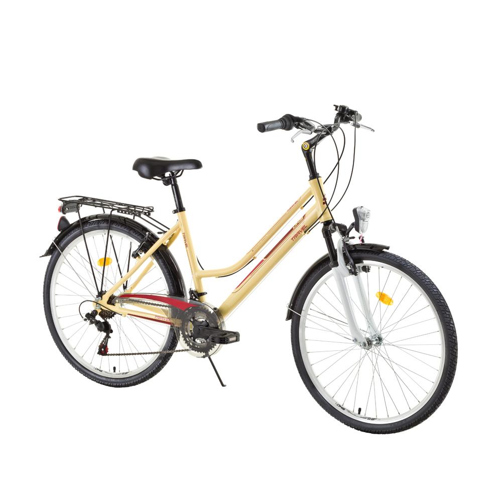 Dámsky trekingový bicykel DHS Travel 2654 26