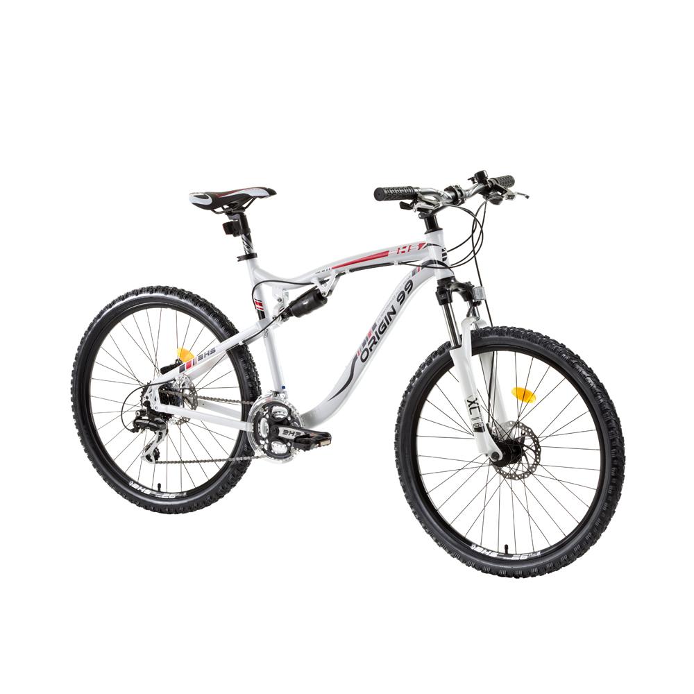 "Celoodpružený bicykel DHS Origin99 2649 26"" - model 2015"
