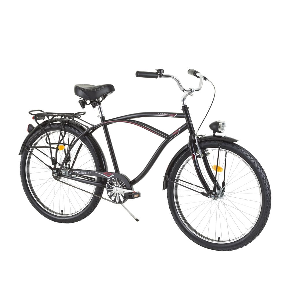 "Mestský bicykel DHS Cruiser 2695 26"" - model 2015"