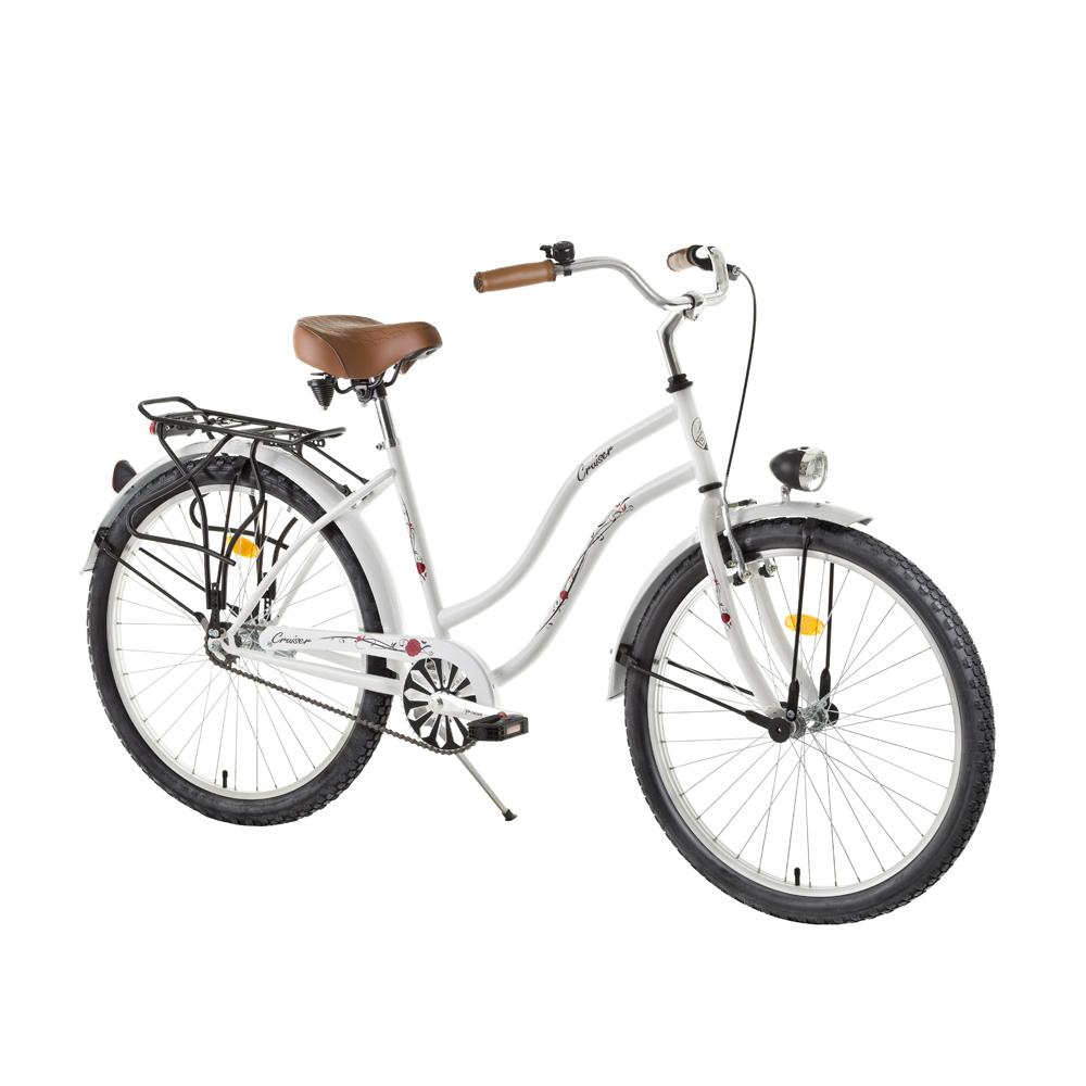 """Dámsky mestský bicykel DHS Cruiser 2696 26"""" - model 2015"""