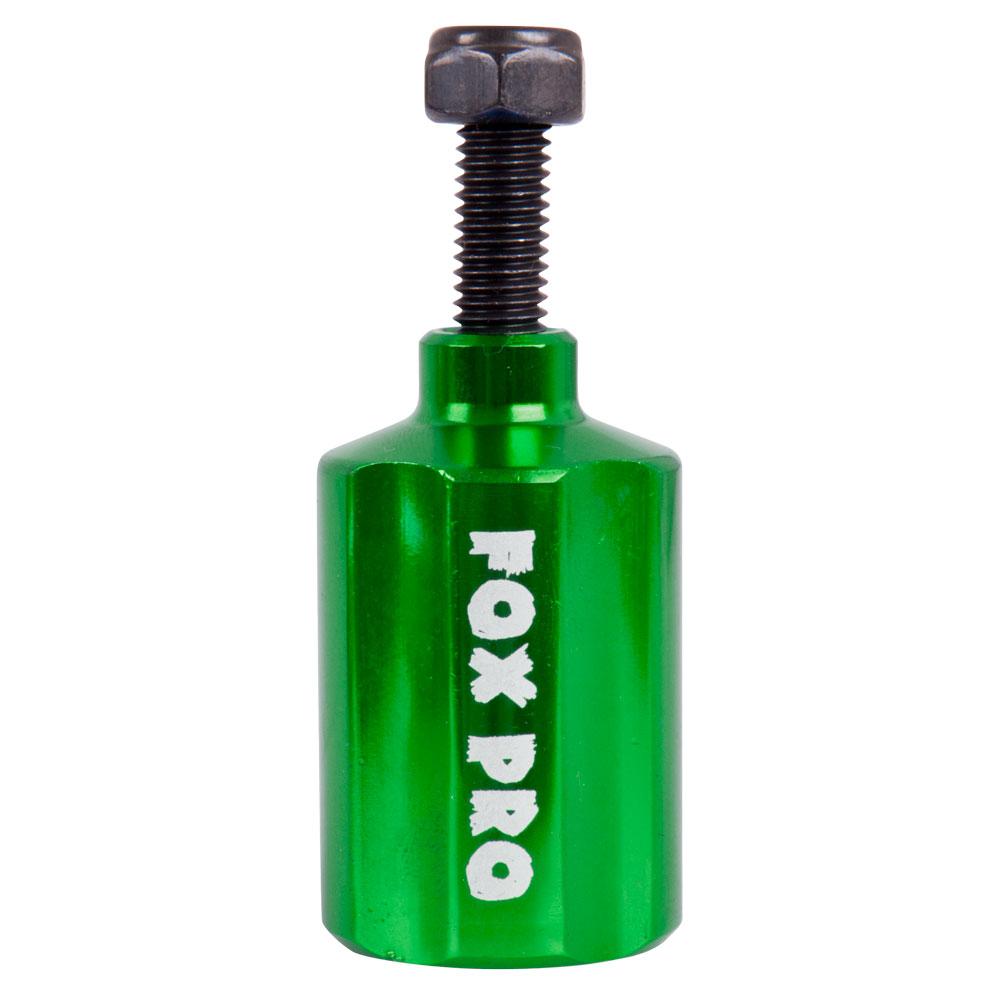 Predné pegy na kolobežku Fox Pro zelená