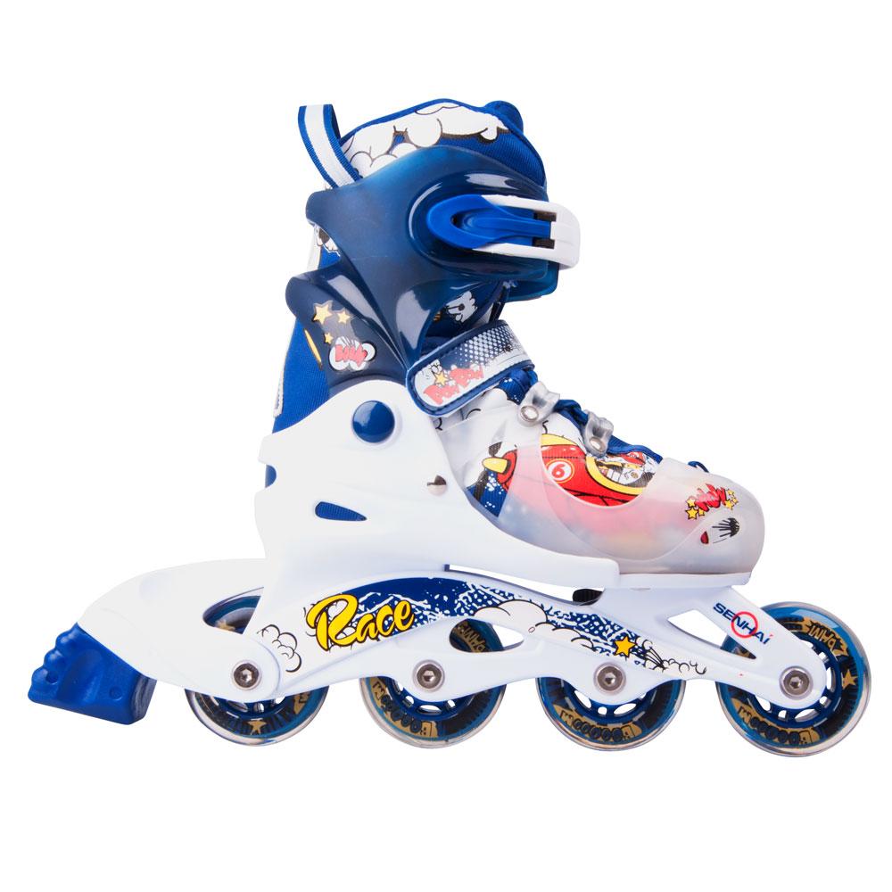 Detské kolieskové korčule WORKER 116A