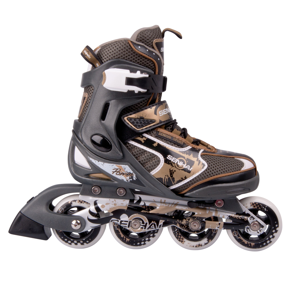 Nastaviteľné kolieskové korčule WORKER 125L