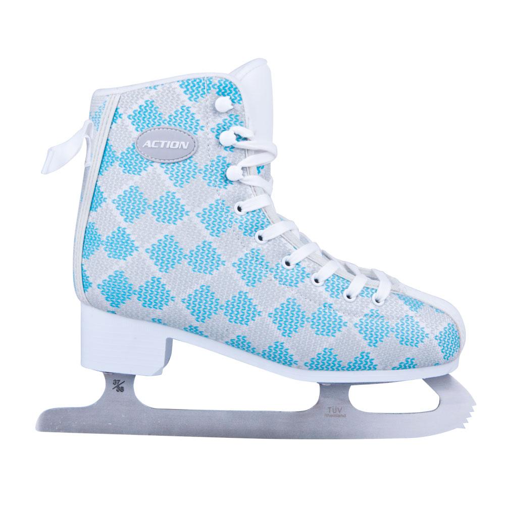Dámske zimné korčule Action Blau