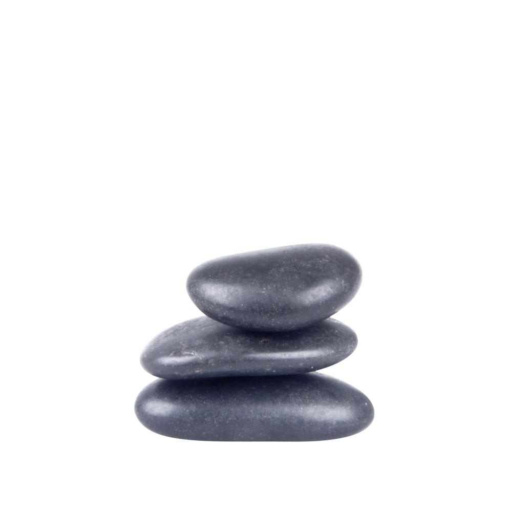 Lávové kamene inSPORTline River Stone 2-4 cm - 3 ks