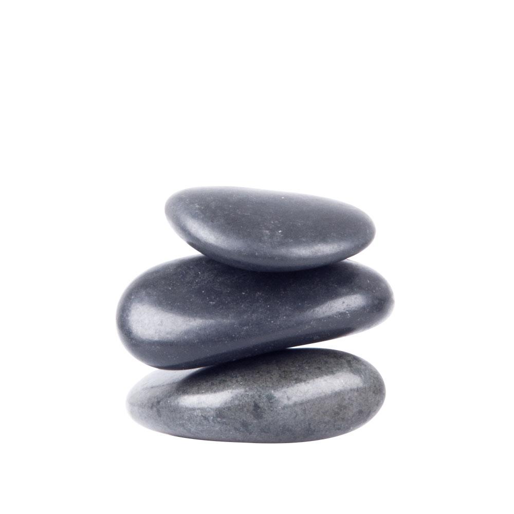 Lávové kamene inSPORTline River Stone 4-6 cm - 3 ks