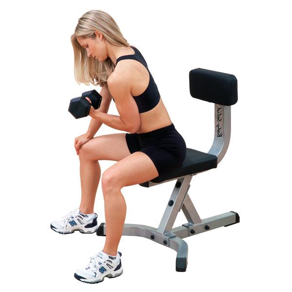 GST20 Body-Solid Posilňovacia stolička
