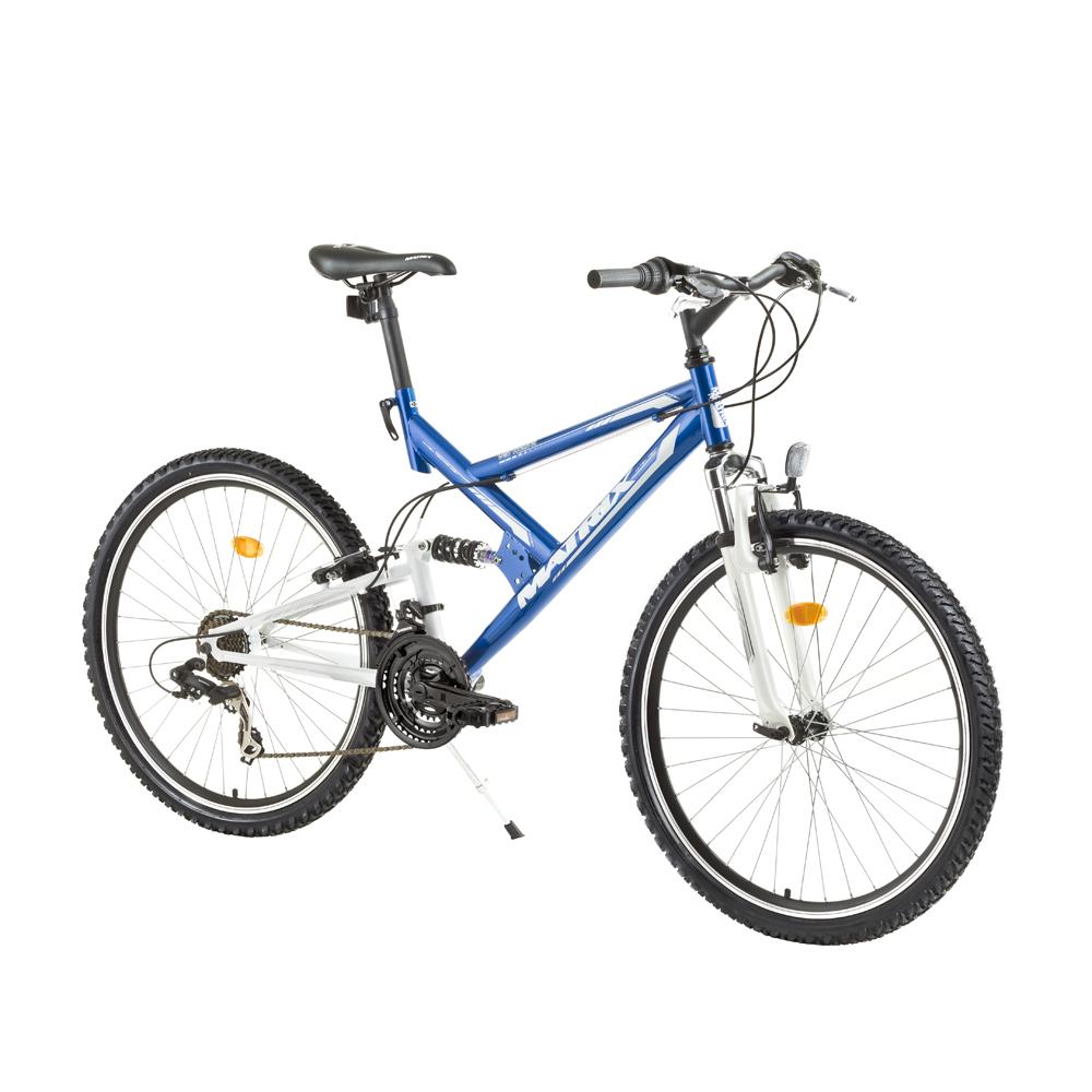 Celoodpružený juniorský bicykel Matrix Vermont 26
