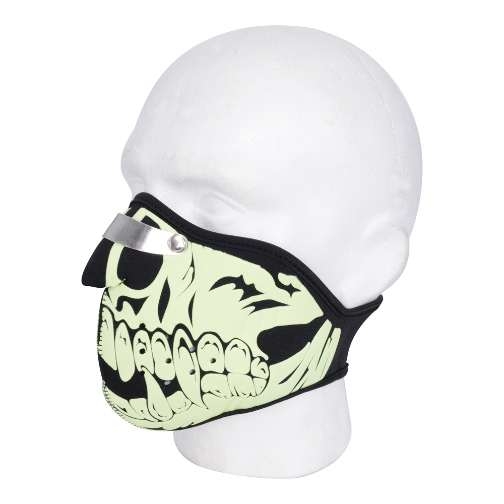 Maska neoprénová Oxford Glow Skull