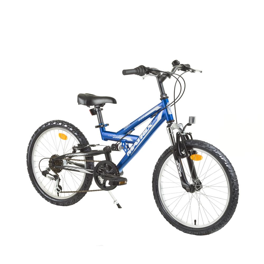 Celoodpružený detský bicykel Matrix Flash 20