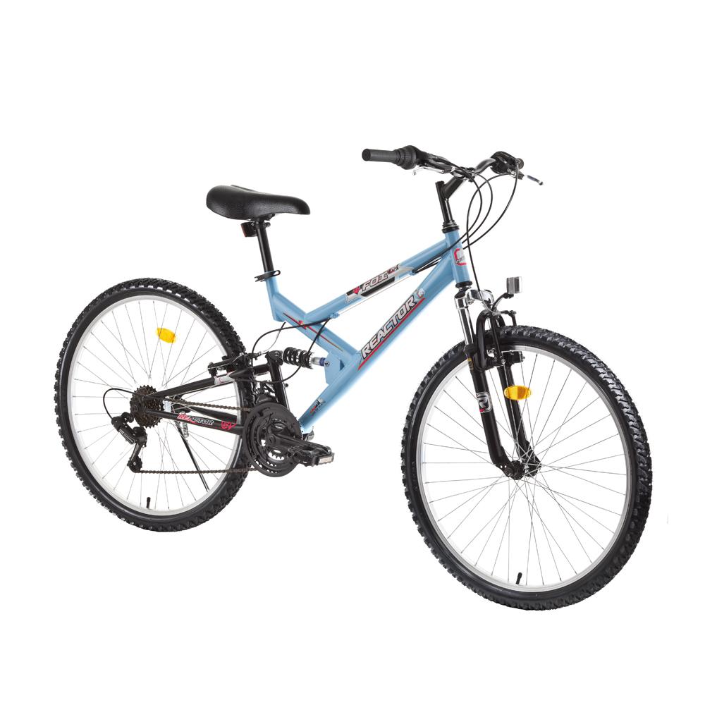 Celoodpružený juniorský bicykel Reactor Fox 26