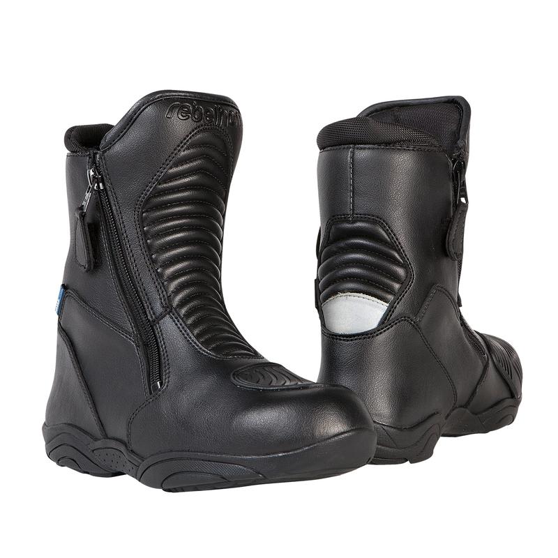 a1c7cf9470f12 Moto topánky REBELHORN Rio čierna - 37
