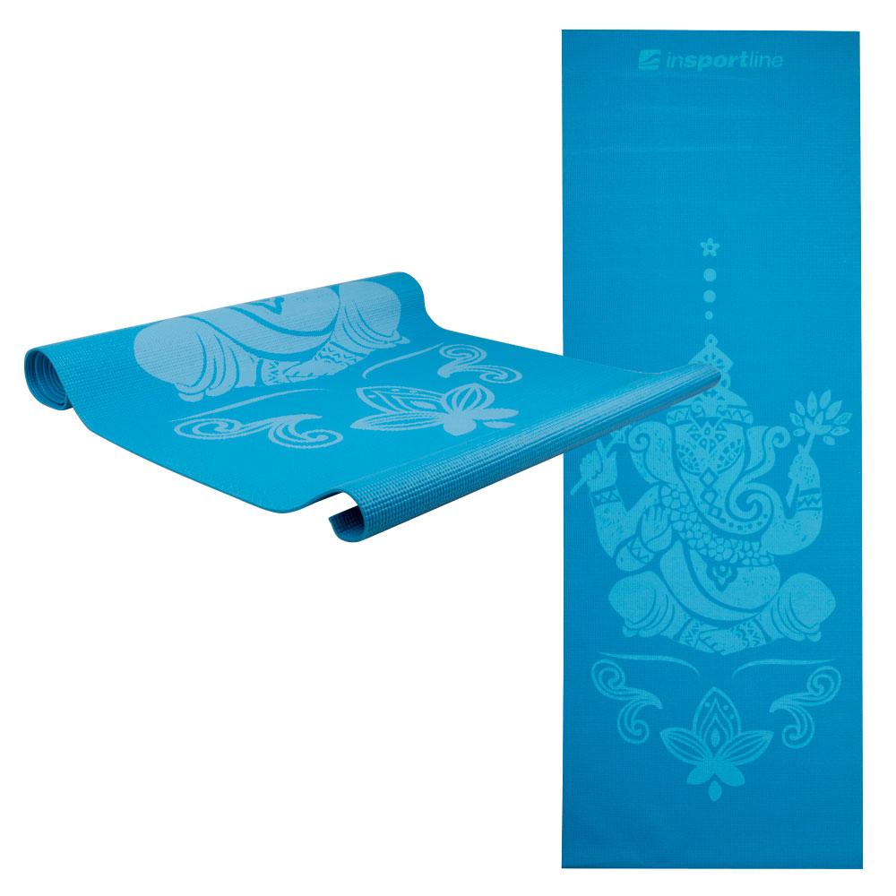 Podložka na jógu inSPORTline Spirit modrá