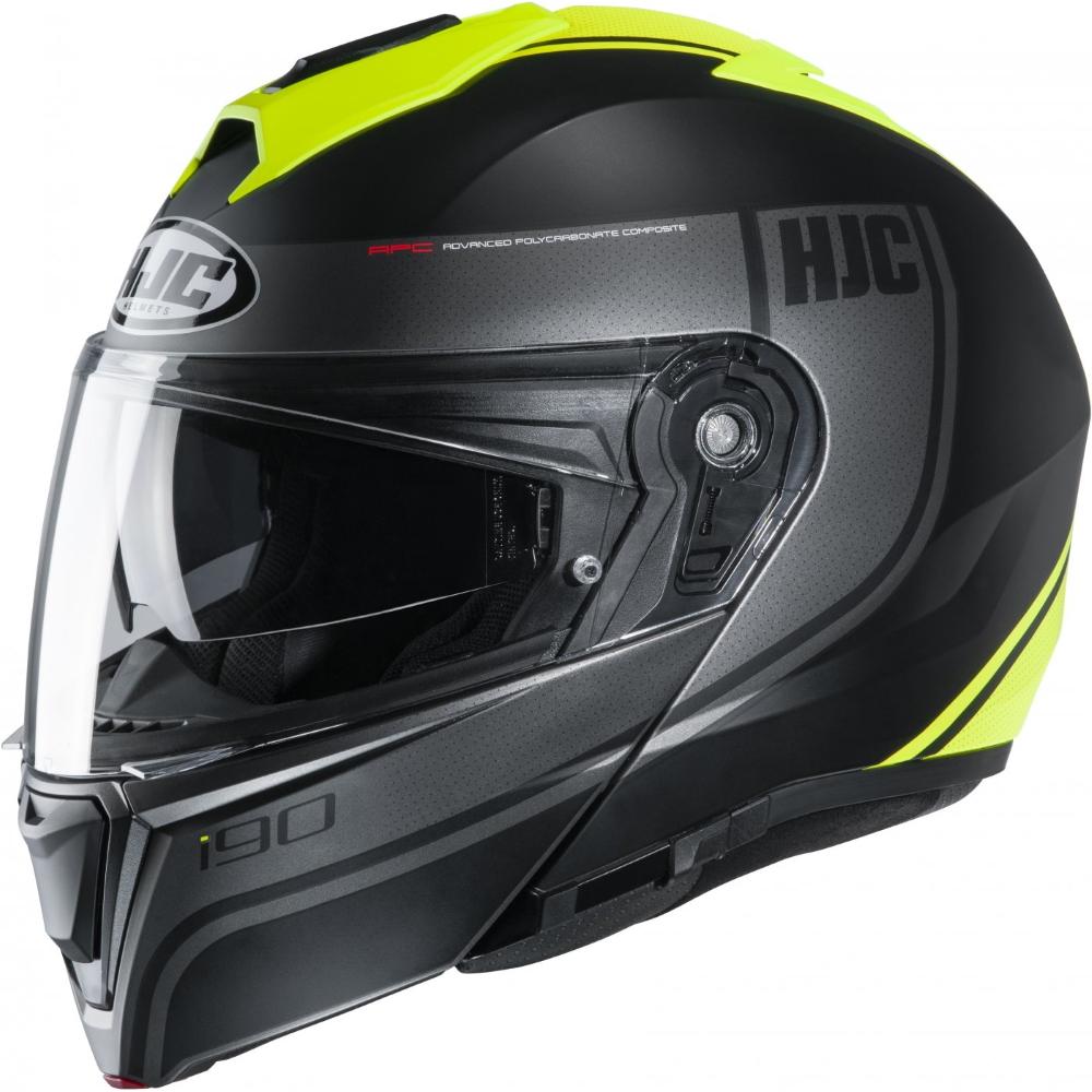 Výklopná moto prilba HJC i90 Davan MC4HSF P/J
