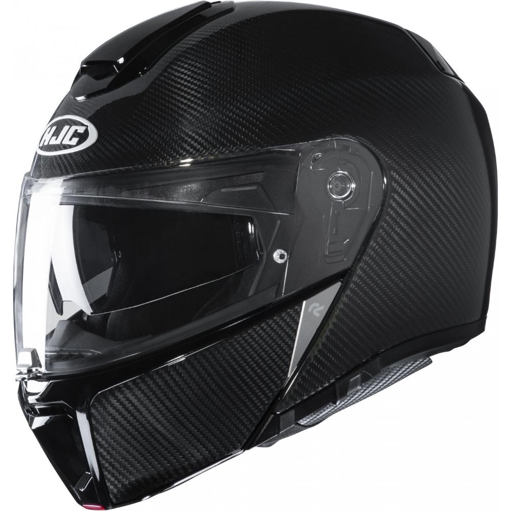 Moto prilba HJC RPHA 90S Carbon Solid Black P/J