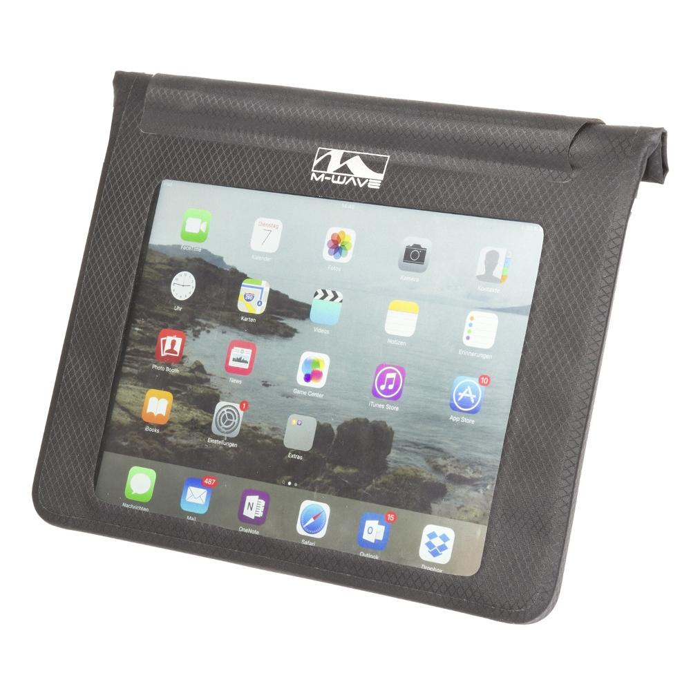 Puzdro na tablet M-Wave Black Bay XL na riadidlá
