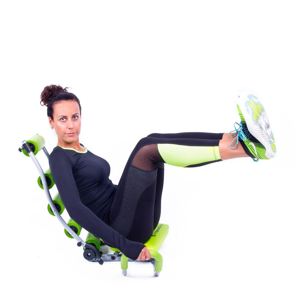 Posilňovač brušných svalov inSPORTline AB Perfect Twist