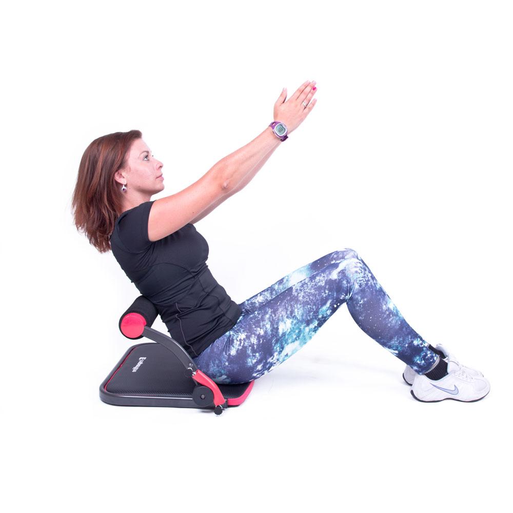Posilňovač brušných svalov inSPORTline AB Perfect Dual