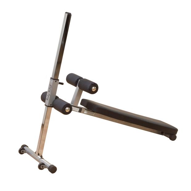 GAB60 Body-Solid Šikmá lavička s oporou