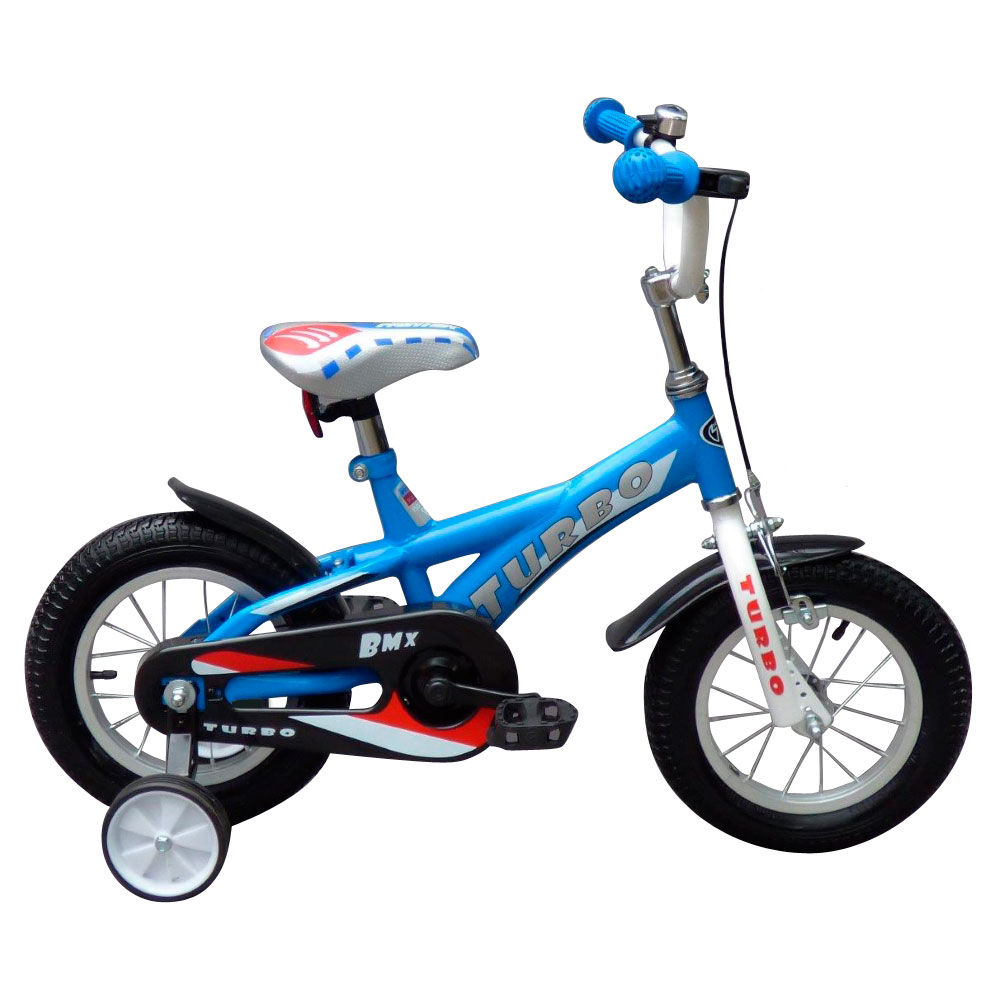 "Detský bicykel Turbo BMX 12"" modrá"