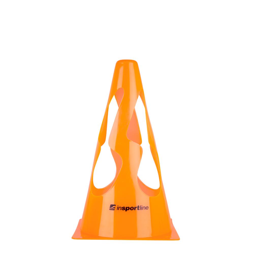 Plastový tréningový kužel inSPORTline UP9 23cm