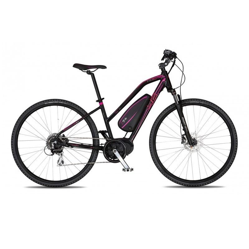 """Dámsky crossový elektrobicykel 4EVER Velvetline AC E-Cross - model 2018 16,5"""" - Záruka 10 rokov"""