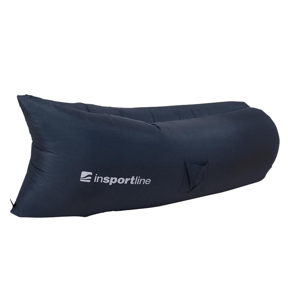 Nafukovací sedací vak inSPORTline Sofair čierna