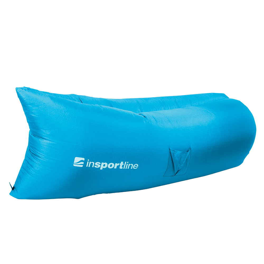 Nafukovací sedací vak inSPORTline Sofair modrá