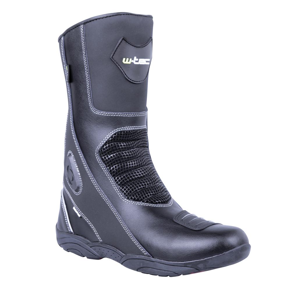 Kožené moto topánky W-TEC Wurben NF-6050 čierna - 40