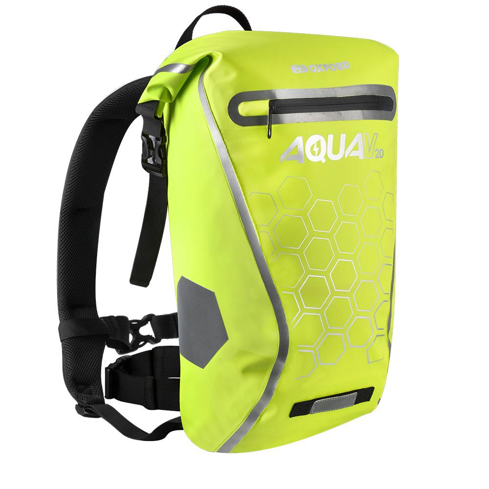 Vodotesný batoh Oxford Aqua V20 Backpack 20l fluo žltá