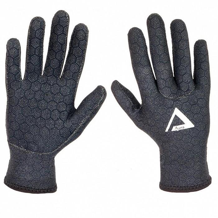 Neoprenové rukavice Agama Superstretch 1,5 mm šedá - S