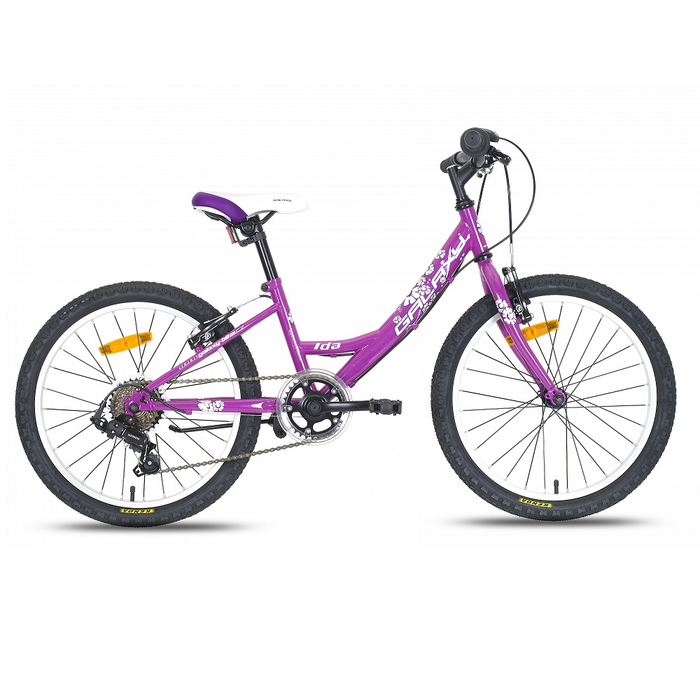 Detský dievčenský bicykel Galaxy Ida 20