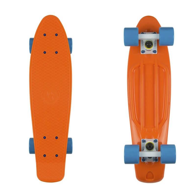 "Pennyboard Fish Classic 22"" orange/white/blue"