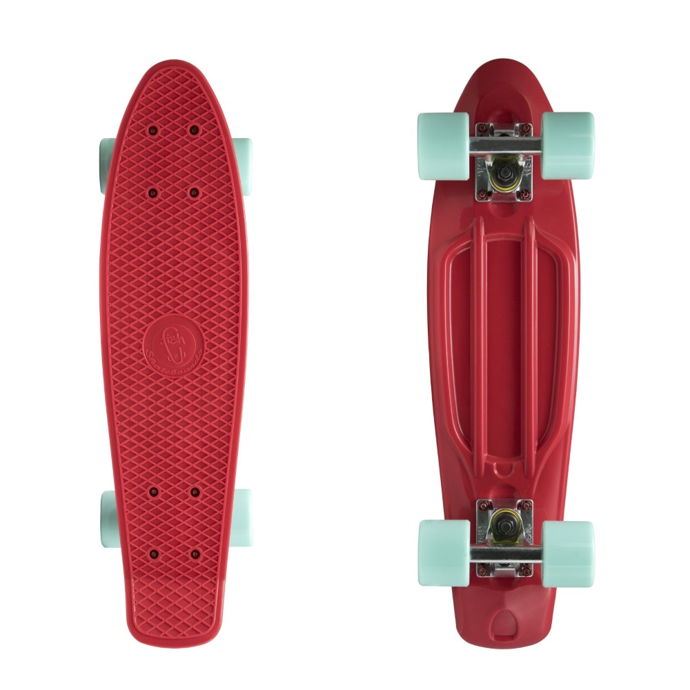 Pennyboard Fish Classic 22 Red-Silver-Summer Green