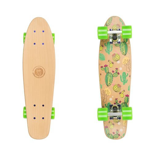 Pennyboard Fish Classic Wood Kaktus