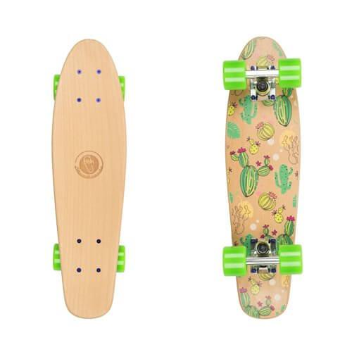 "Drevený pennyboard Fish Classic Wood 22"" Kaktus"