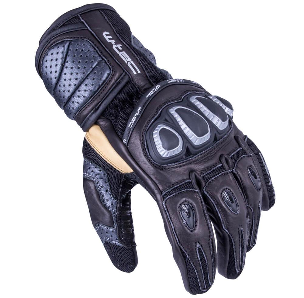 Pánske moto rukavice W-TEC Crushberg GID-16022 čierna - XXL