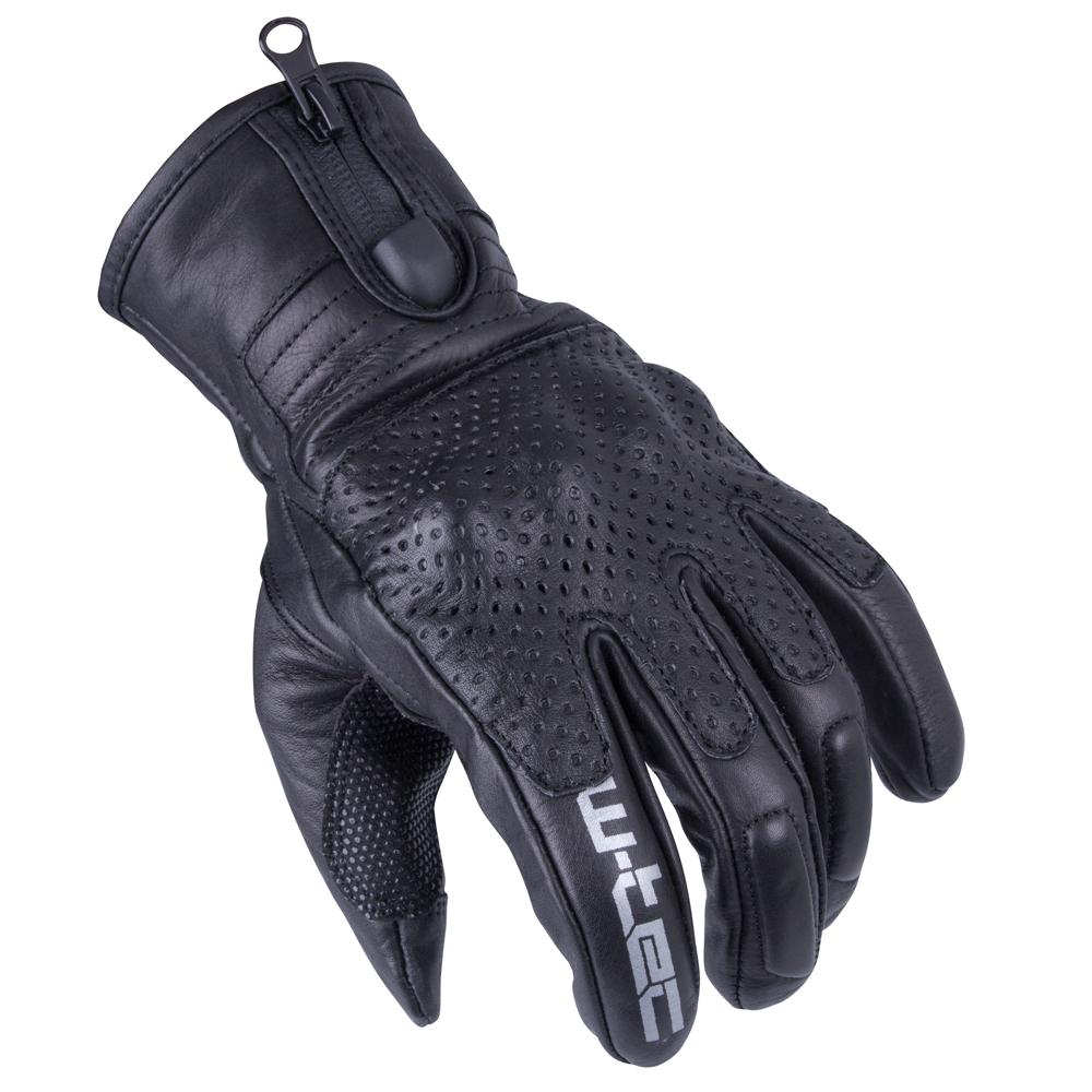 Pánske moto rukavice W-TEC Swaton čierna - M