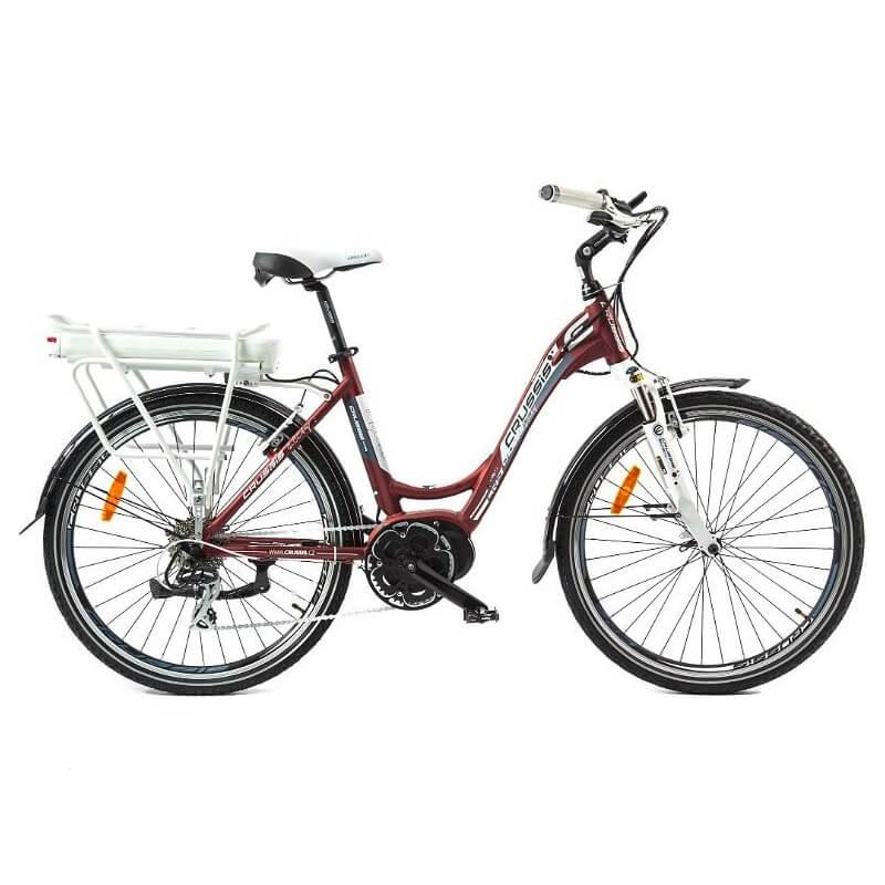Mestský elektrobicykel Crussis e-City 7.2 - Záruka 10 rokov