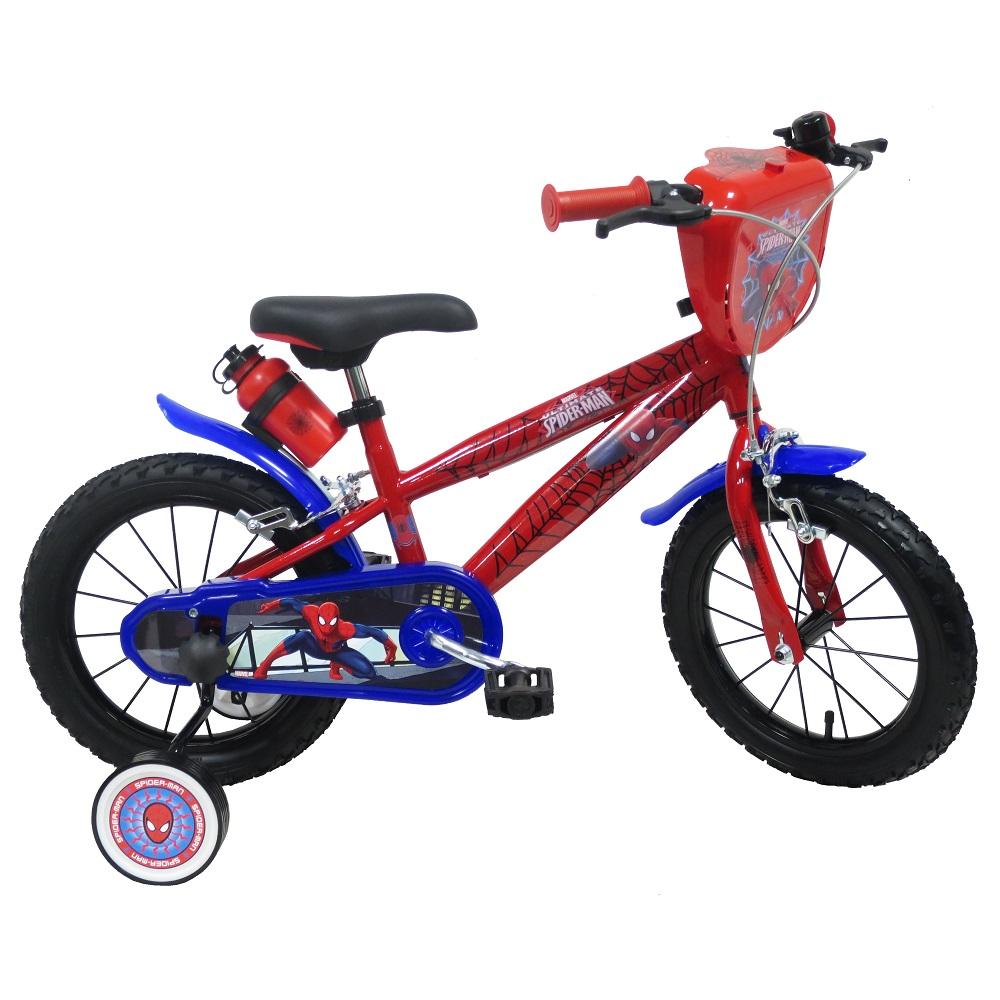 "Detský bicykel Spiderman 2244 14"" - model 2018"