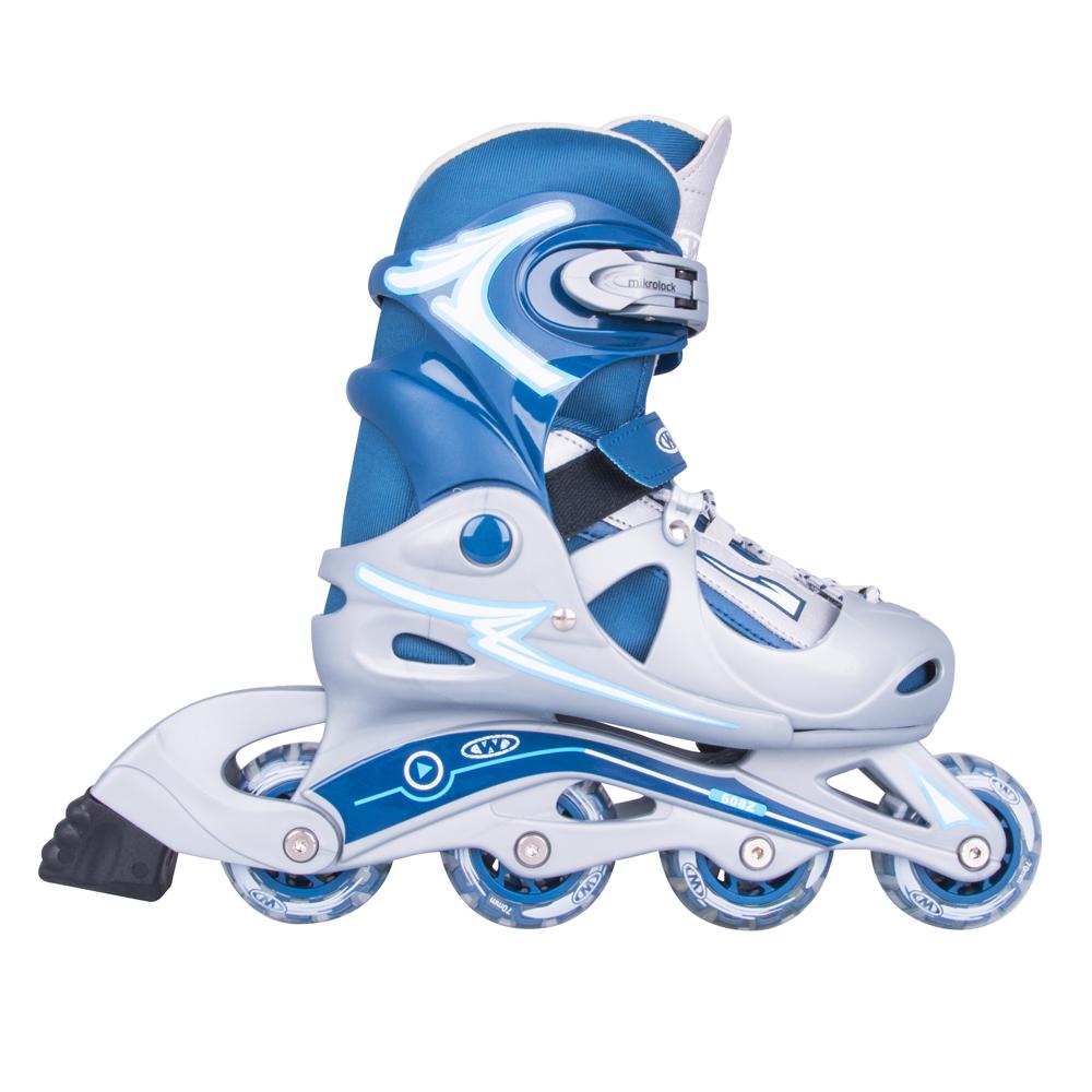 Nastaviteľné korčule WORKER Juny Boy modrá - S 30-33