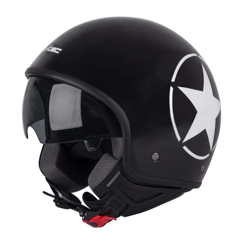 Helma na skúter W-TEC FS-710S Revolt Black