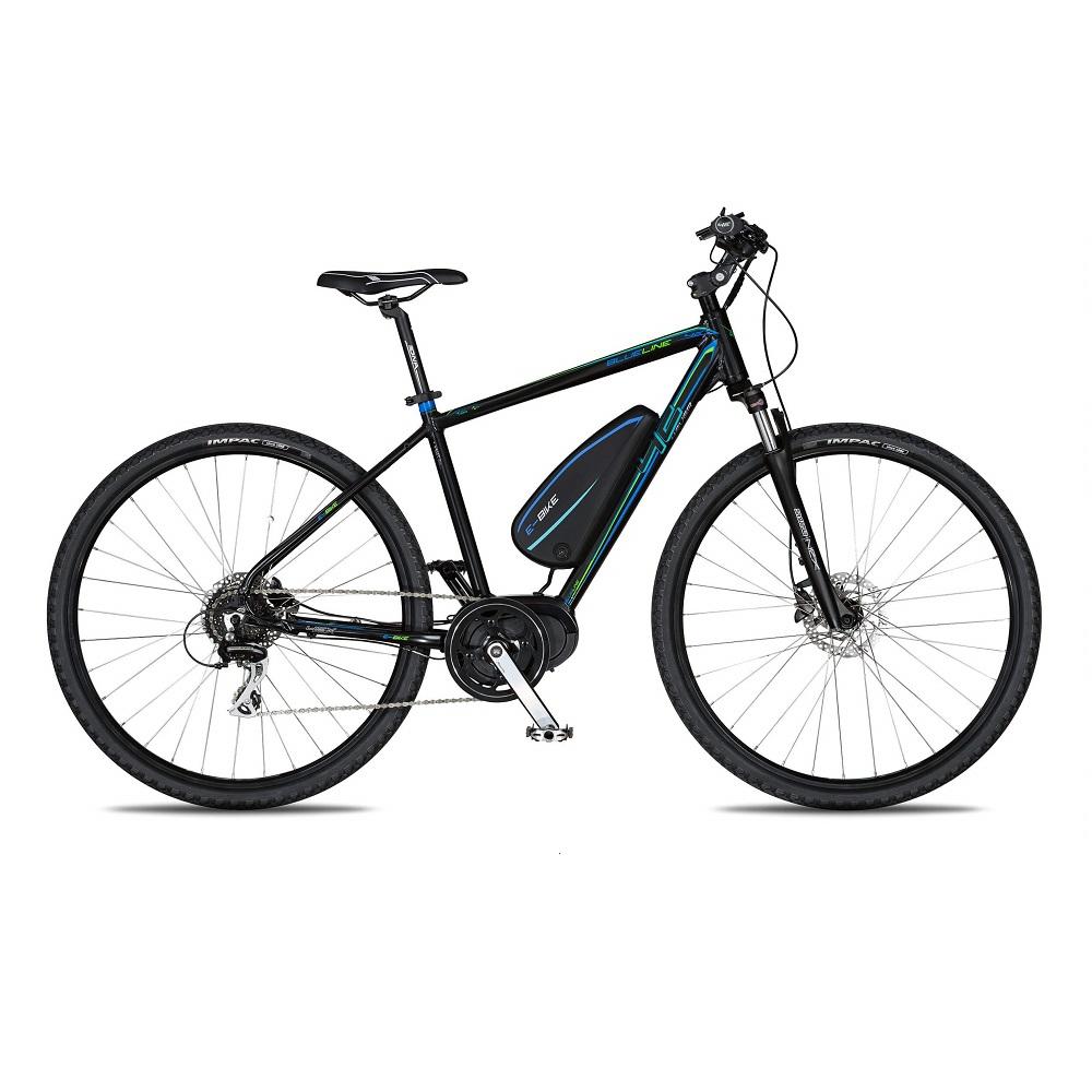 """Crossový elektrobicykel 4EVER Blueline AL E-Cross - model 2020 17"""" - Záruka 10 rokov"""