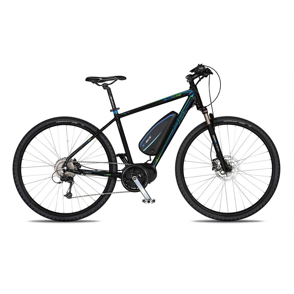 """Crossový elektrobicykel 4EVER Blueline AC E-Cross - model 2020 21"""" - Záruka 10 rokov"""